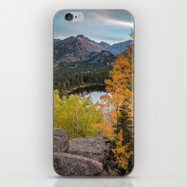 Rocky Mountain Autumn Sunset Colorado National Park Fall Landscape iPhone Skin