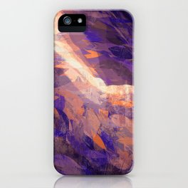 Leaf peak iPhone Case