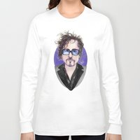 tim shumate Long Sleeve T-shirts featuring TIM BURTON by ●•VINCE•●