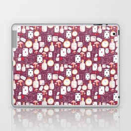 Alice in Wonderland - Purple Madness Laptop & iPad Skin
