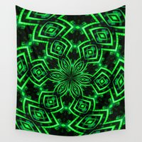 rave Wall Tapestries featuring Rave Explosive by Julie Maxwell