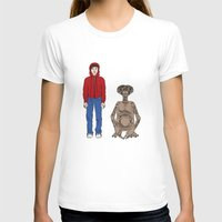 et T-shirts featuring ET - Elliot and ET by V.L4B