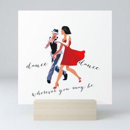 Swing Dance Mini Art Print