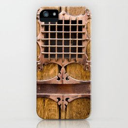 Brass Letterbox iPhone Case