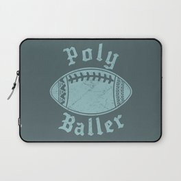 Polynesian Football Family Laptop Sleeve