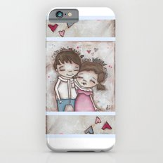 She Believed Him - by Diane Duda iPhone 6s Slim Case