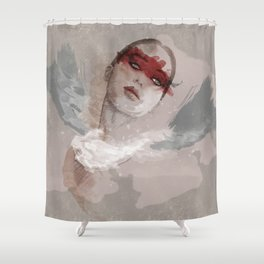 Little wings Shower Curtain