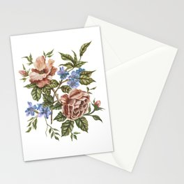 Rustic Florals Stationery Cards