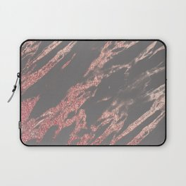 Charcoal rose gold Laptop Sleeve