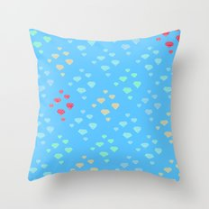 Diamond Dreams Throw Pillow