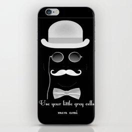 Hercules Poirot Quotes!! iPhone Skin