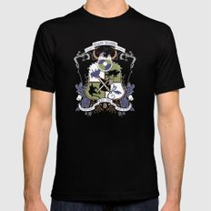 Dragon Training Crest - How to Train Your Dragon MEDIUM Mens Fitted Tee Black