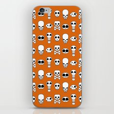 All skulls, all the time. iPhone & iPod Skin