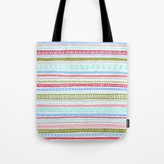 Reddish Pattern Tote Bag