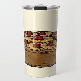 U is for Upside-Down Cake Travel Mug
