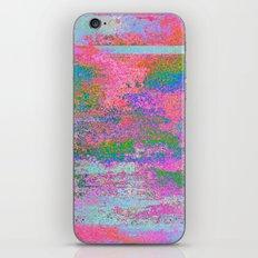 08-12-13 (Building Pink Glitch) iPhone & iPod Skin