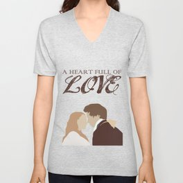 Marius & Cosette - A Heart Full of Love Unisex V-Neck