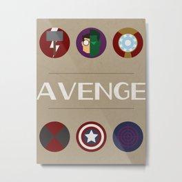 AVENGE Metal Print