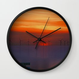Relax (Digital Art) Wall Clock