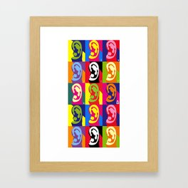 cauliflower ear Framed Art Print