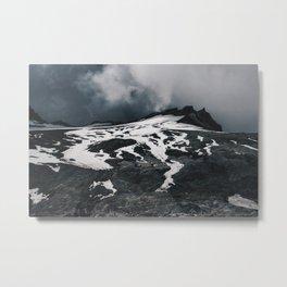 Expanse of Mount Ruapehu Metal Print