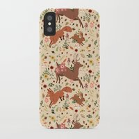 woodland iPhone & iPod Cases featuring Woodland by Sophie Eves