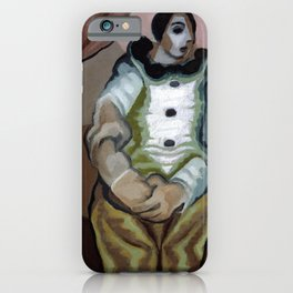 "Juan Gris ""Pierrot Aux Mains Jointes"" iPhone Case"