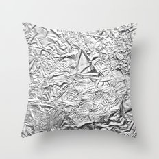 Aluminum Foil Throw Pillow