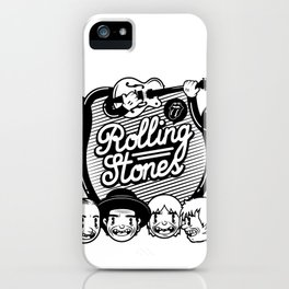 Rolling Music iPhone Case