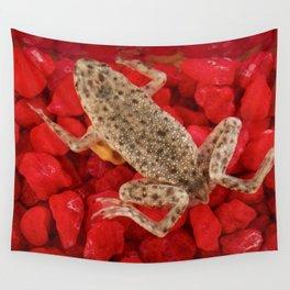 African dwarf frog Hymenochirus boettgeri Wall Tapestry