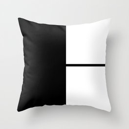 More than Shape / Capital Letter H Throw Pillow
