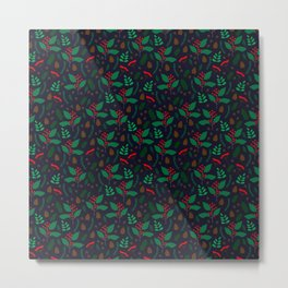 Red Winterberry Metal Print