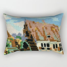 Found Tapestry Mill Rectangular Pillow