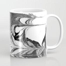 Marble Suminagashi 3 watercolor pattern art pisces water wave ocean minimal design Coffee Mug