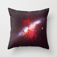 Two Forces Throw Pillow