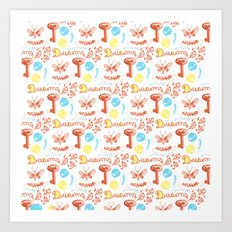 pattern II Art Print