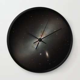 Leda NGC 4424 The Beautiful Universe Wall Clock