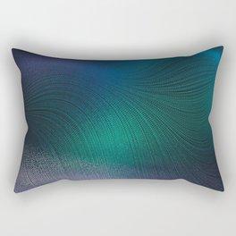 Beauty of the Northern Lights Rectangular Pillow
