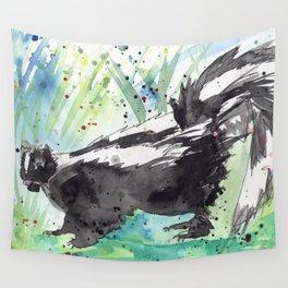 Skunk Life Wall Tapestry