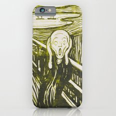 The Scream's Haze (yellow) iPhone 6s Slim Case