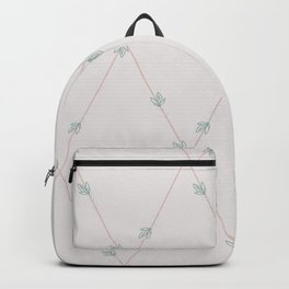Creamy Siam Tulips Backpack