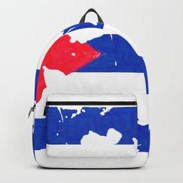 Grundge stylized cuban flag Backpack