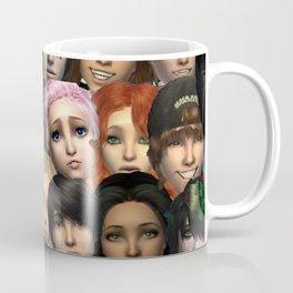 All Around Me are Familiar Faces Coffee Mug