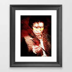 Goody Two Shoes Framed Art Print