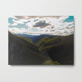 Tasmania Landscape Metal Print