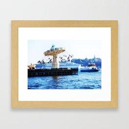 Gröna Lund Framed Art Print