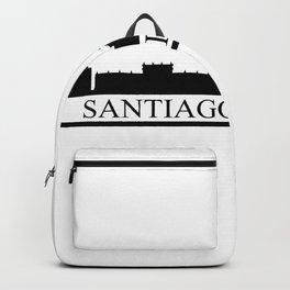 santiago de chile skyline Backpack