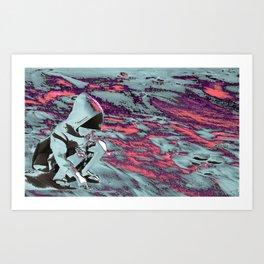 Memories of the Moon Art Print