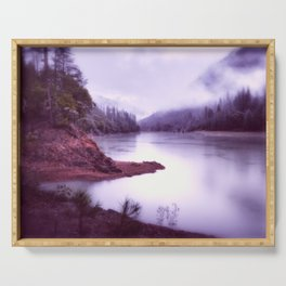 Shasta Lake Subdued Serving Tray