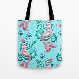 Mysterious Mermaid Tote Bag